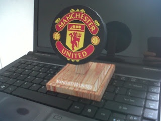 Mancester united papercraft