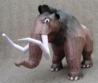 ice-age-manny-mammoth-papercraft