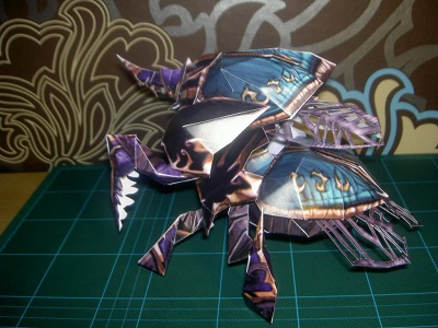 Nerubian-Assassin-papercraft
