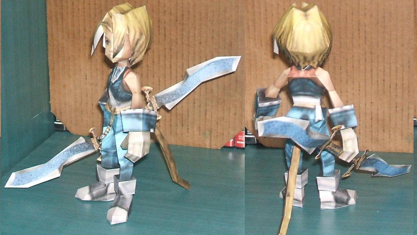 final-fantasy-9-zidane-papercraft