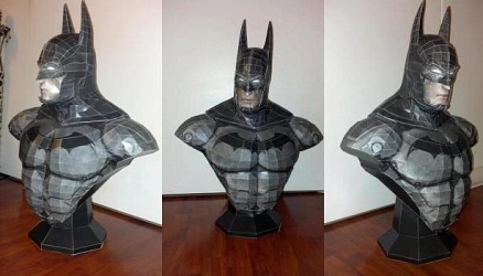 batman-bust-papercraft