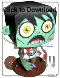 free-zombie-papercraft-download