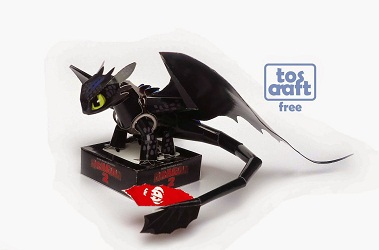 toothless-how_to_tran_your_dragon-papercraft