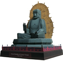 architecture-papercraft-the-great-buddha-of-japan