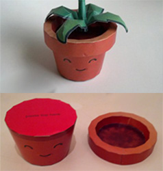 Flower pot paper craft the most beautiful flower 2018 how to make paper flower pot news craft crafts junction mightylinksfo