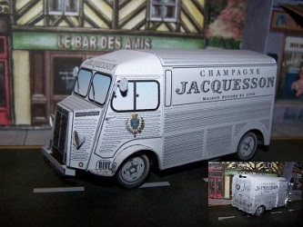 champagne-Jacquesson Truck PaperCraft