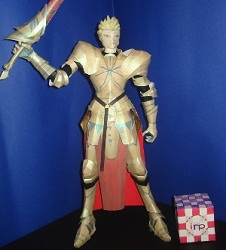 fate stay night-papercraft-archer
