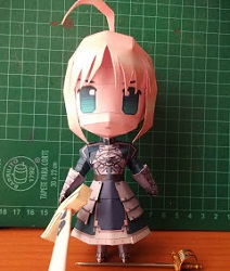 fate_stay_night-saber-papercraf-chibi