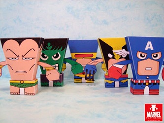 flatheads_marvel-heroes-papercraft