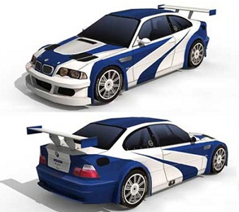 Need-for-Speed-BMW-M3-GTR-papercraft