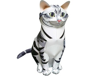 amerigan-shorthair-cat-papercraft