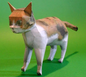 zelda Twilight princess tp cat papercraft