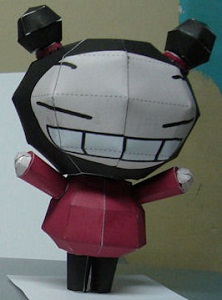 pucca-paper-craft
