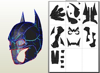Batman-Mask-Paper-Craft