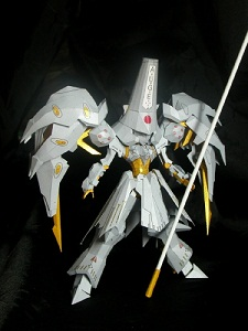 The Five Star Series  Machine Messiah Auge Papercraft