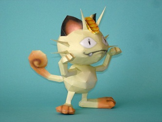 papercraft-pokemon-meowth