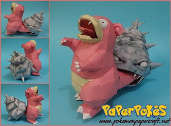 pokemon-papercraft-Slowbro