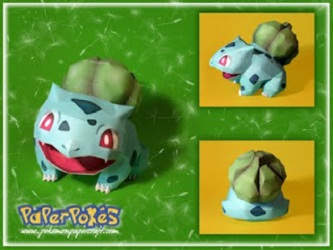 pokemon-papercraft-bulbasaur