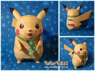 pokemon-papercraft-pikachu