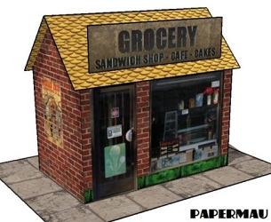 sanwith-shop-paper-model