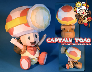 captain-toad-papercraft