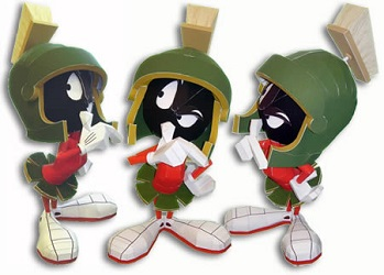 marvin-the-martain-papercraft