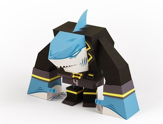 pirate_shark_paercraft