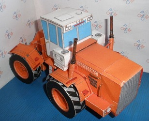 Kirovets-K-710-Tractor-Vehicle-Paper-Craft