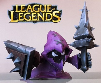 lol-purple-minion-papercraft