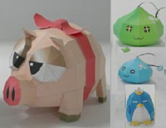 maplestory-online-game-monster-papercraft