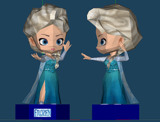 disney-princess-chibi-elsa-paper-craft-model