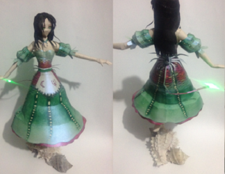 alice-alicia-girl-papercraft