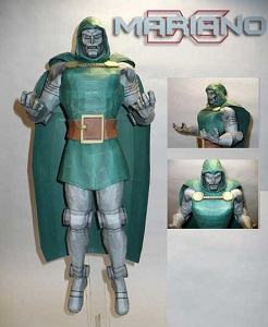 dr.doom-papercraft