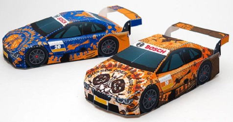 halloween-racing-car-papercraft
