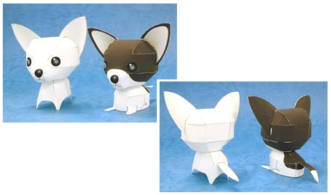 chihuahua-dog-papercraft