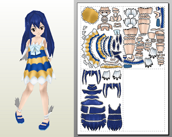 fairy_tail_wendy_papercraft