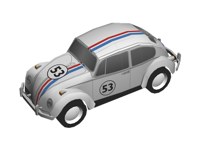 vw-herbie-papercraft