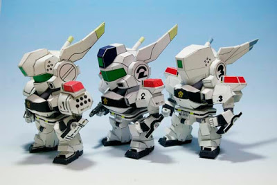 SD Patlabor AV-98 Paper Craft