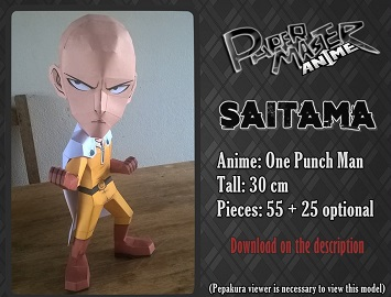 One-Punch-Man-papercraft
