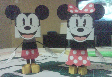 mickey-minnie-paper-craft