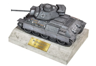 Paper-Craft-World of Tanks - PzKpfw T34 747