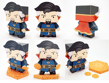 dr_strange-paper-craft