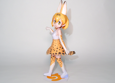 sabaru_kemono_friends_papercraft