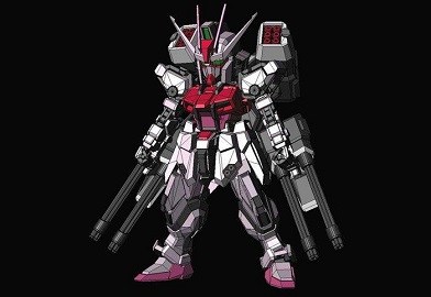 gundam-paper-craft-sd-strike-rouge