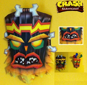 crash_bandicoot-uka_uka_papercraft