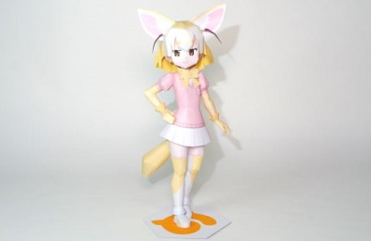 kemono-friends-fennec-papercraft